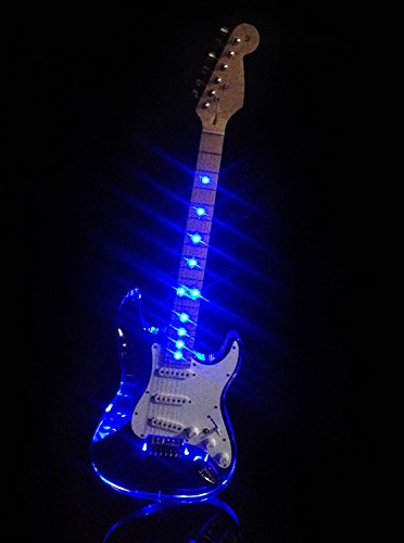 L'MS  Vintage Style Electric Guitar With LED Light