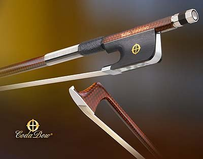CodaBow Diamond GX Carbon Fiber Violin Bow