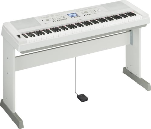 Yamaha DGX-650WH 88 Weighted Digital Piano