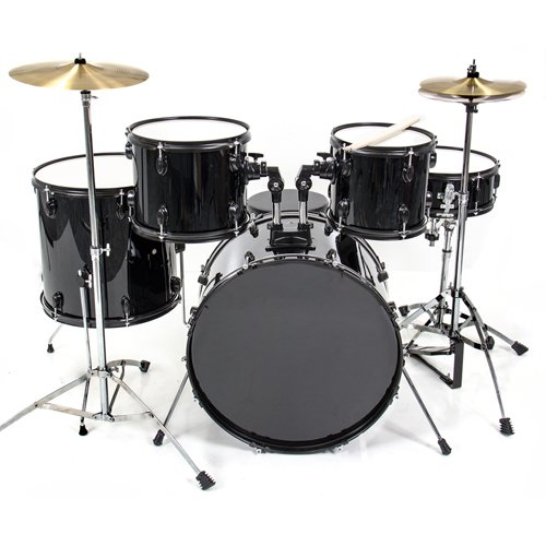 Best Choice Product 5 Piece Drum Set