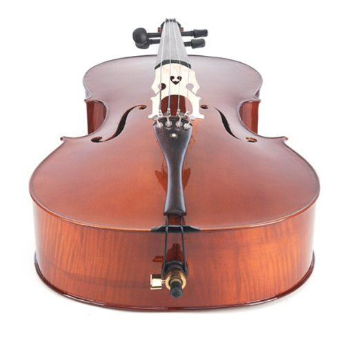Cecilio CCO-500 Ebony Fitted Flamed Solid Wood Cello