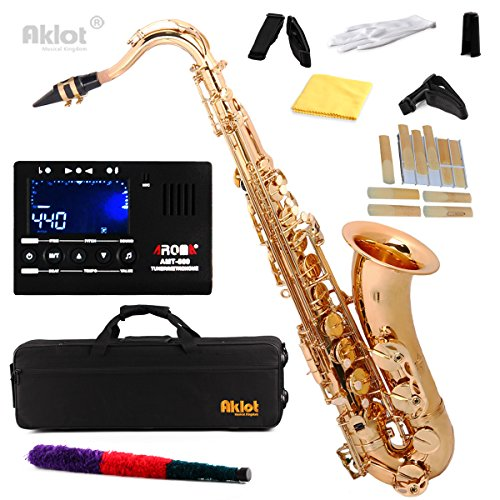 Aklot Bb Gold Beginner Tenor Saxophone
