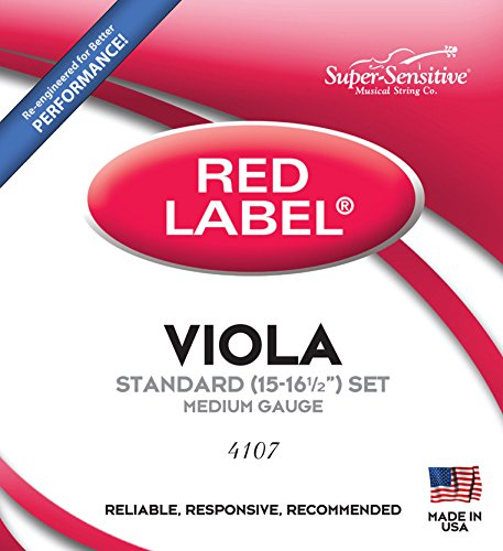 Super- Sensitive 4107 Viola String Set