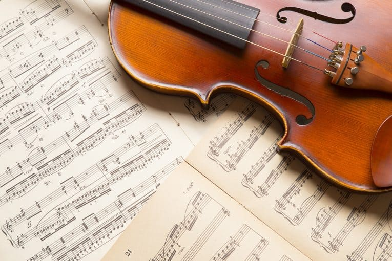 violin string names