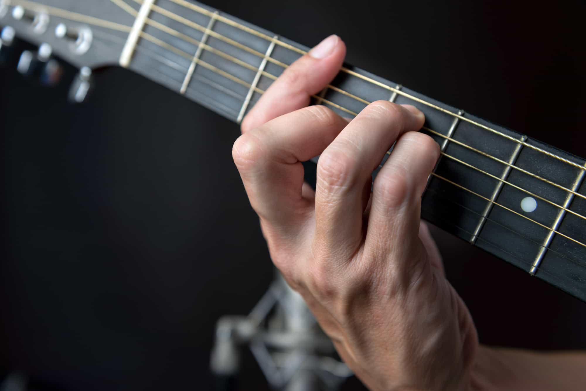 Simple Explanation Of G Major Chord And Finger Position
